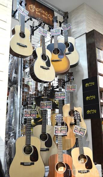 『 マーチンギターフェア2017 』開催中!!画像