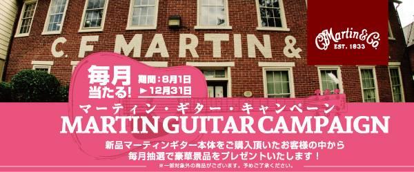 『マーティンギターキャンペーン!』画像